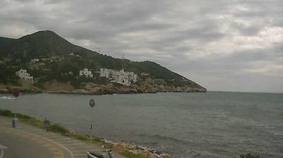Webkamera Sitges › East: › East: Cataluña − Platja de Aiguad