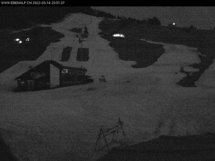 Schwende: Ebenalp Webcam Skilift Horn