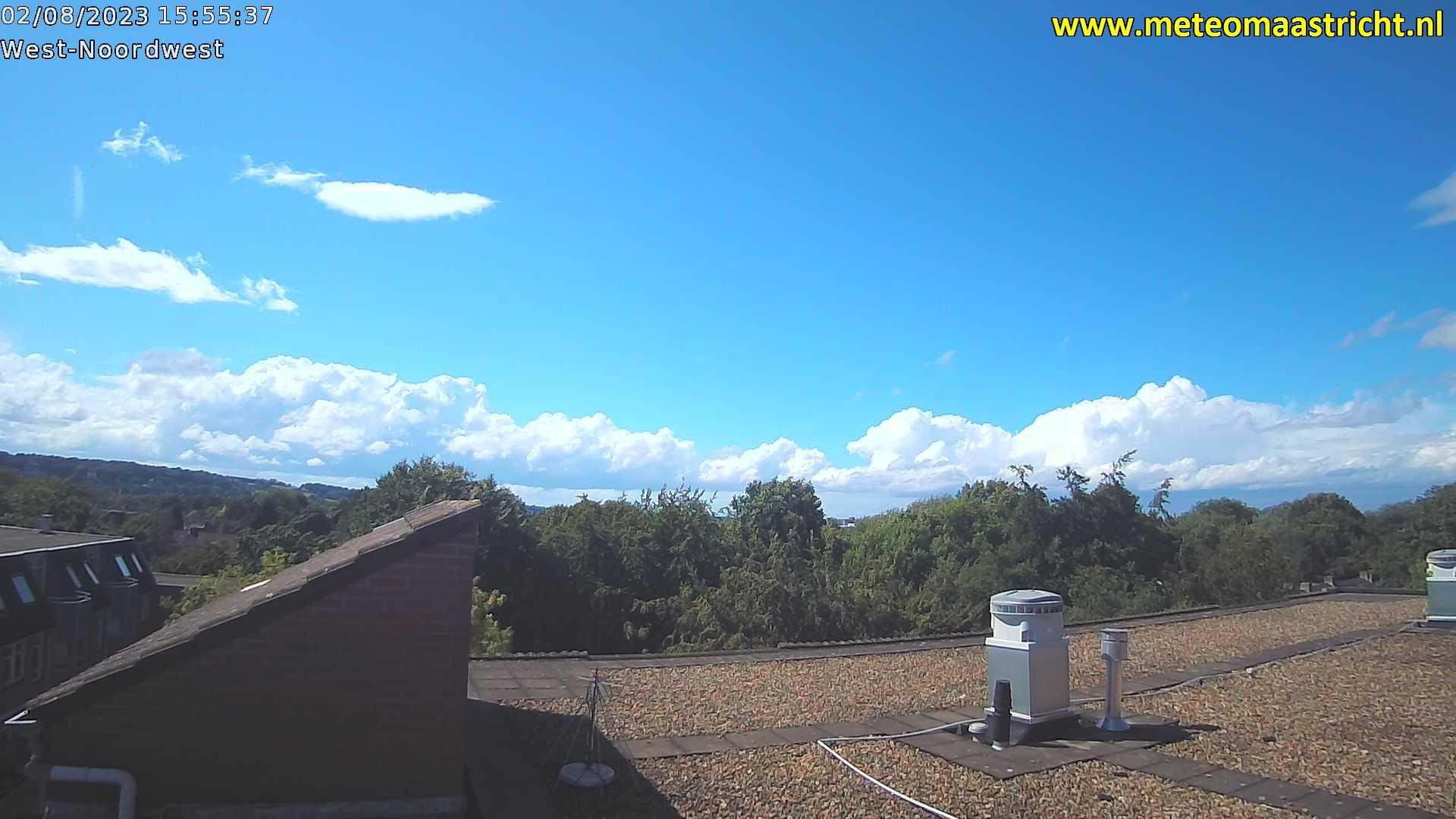 Webkamera Gronsveld: Maastricht − De Heeg (view northwest)