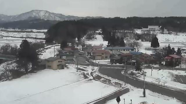 Webcam 東由利老方: Higashiyuri general branch office (東由利総合支所)
