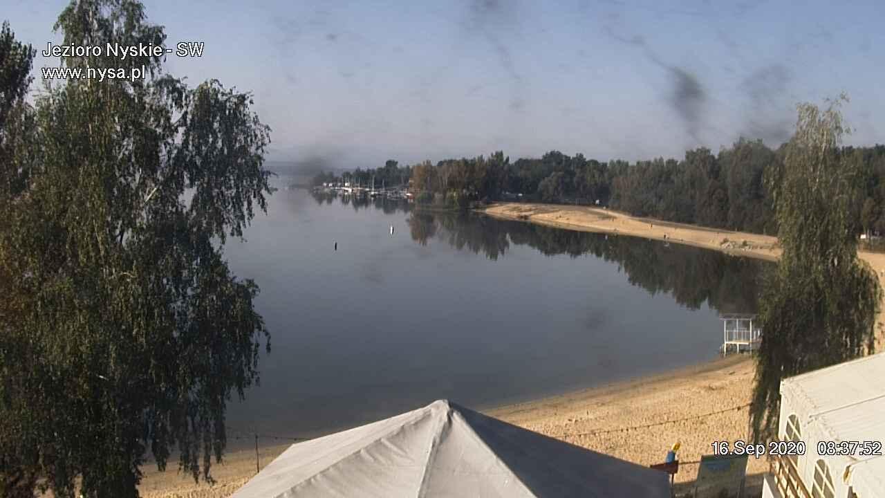 Webcam Nysa: Nyskie Lake