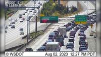 Seattle: I- at MP .: N Northgate Way - Overdag