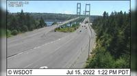 Fife: SR  at MP .: Tacoma Narrows Bridge, Westside - El día