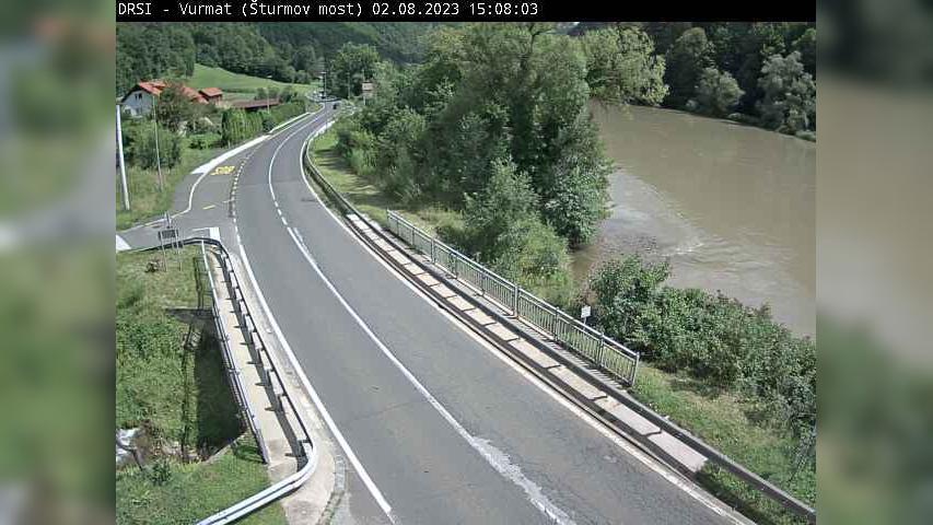 Webcam Zgornji Boč: G1-1, Ruta − Maribor (Koroški most),