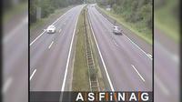 Ultima vista de la luz del día desde Innertreffling: A07, zwischen Anschlussstelle Treffling und HASt Gallneukirchen, Blickrich