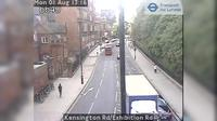 London: Kensington Rd/Exhibition Rd - Overdag