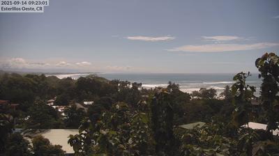 Daylight webcam view from Parrita › East: Esterillos Oeste