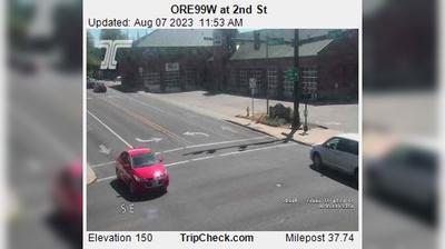 Vignette de McMinnville webcam à 6:13, oct. 20