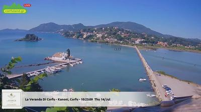 Corfu Live Webbkamera - Just nu