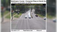 Hillsboro: Washington County - Evergreen Pkwy at Stucki Ave - Dia