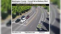 Durham: Washington County - Cornell Rd at Bethany Blvd - Aktuell