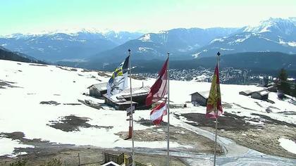 Flims Dorf: Livespotting - Berghaus Foppa