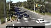Saanich > East: , Hwy  (Patricia Bay Highway) at Ravine Way, looking east - Current