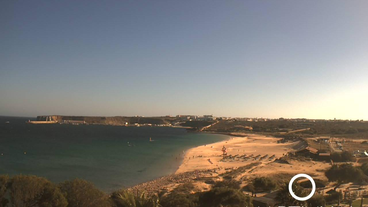 Webcam Sagres: Martinhal beach − on the Algarve