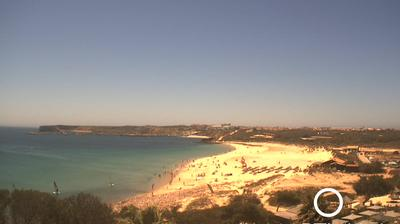 Daylight webcam view from Sagres: Martinhal beach − on the Algarve
