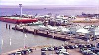 Cuxhaven: Cuxhafen - F�hrhafen - Dagtid