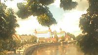 Neuburg an der Donau: Neuburg a. d. Donau - Donaukai und Schloß - Day time