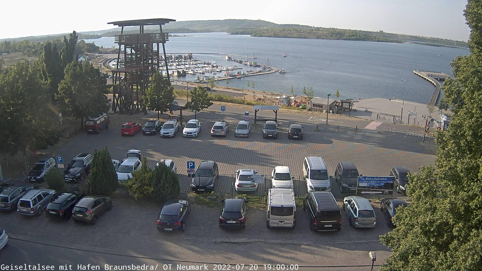 Webcam Neumark: Geiseltalsee Braunsbedra