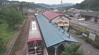 Last daylight view from Ueda: 別所温泉駅