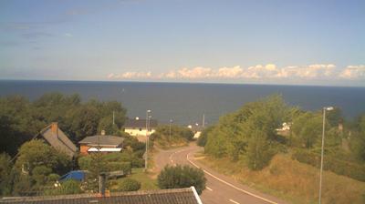 Vista de cámara web de luz diurna desde Vang: Bornholm − Oplev Solnedgang i