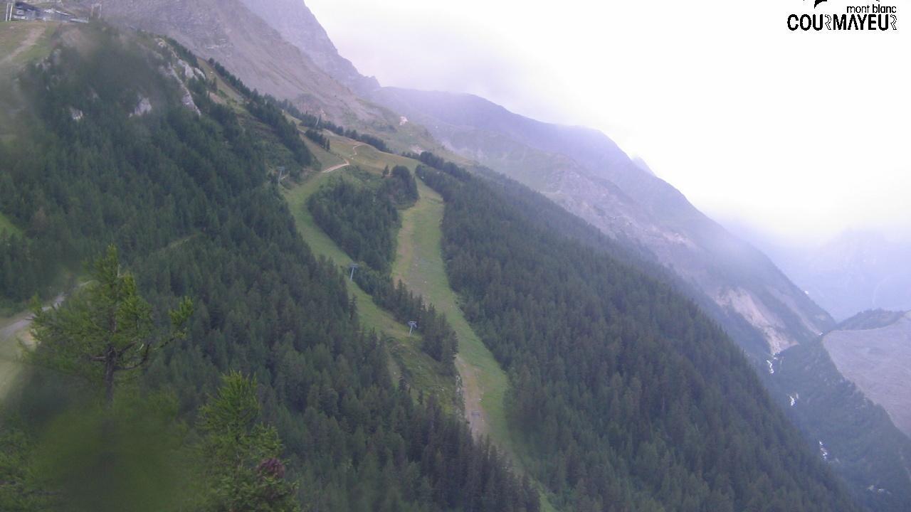 Webcam Pra Neiron: Courmayeur comprensorio di sci, pista