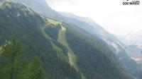 Courmayeur: comprensorio di sci, pista Internazionale - Overdag