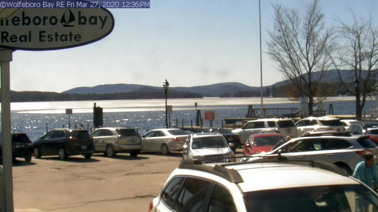 Webcam Wolfeboro: Lake Winnipesaukee − Bay