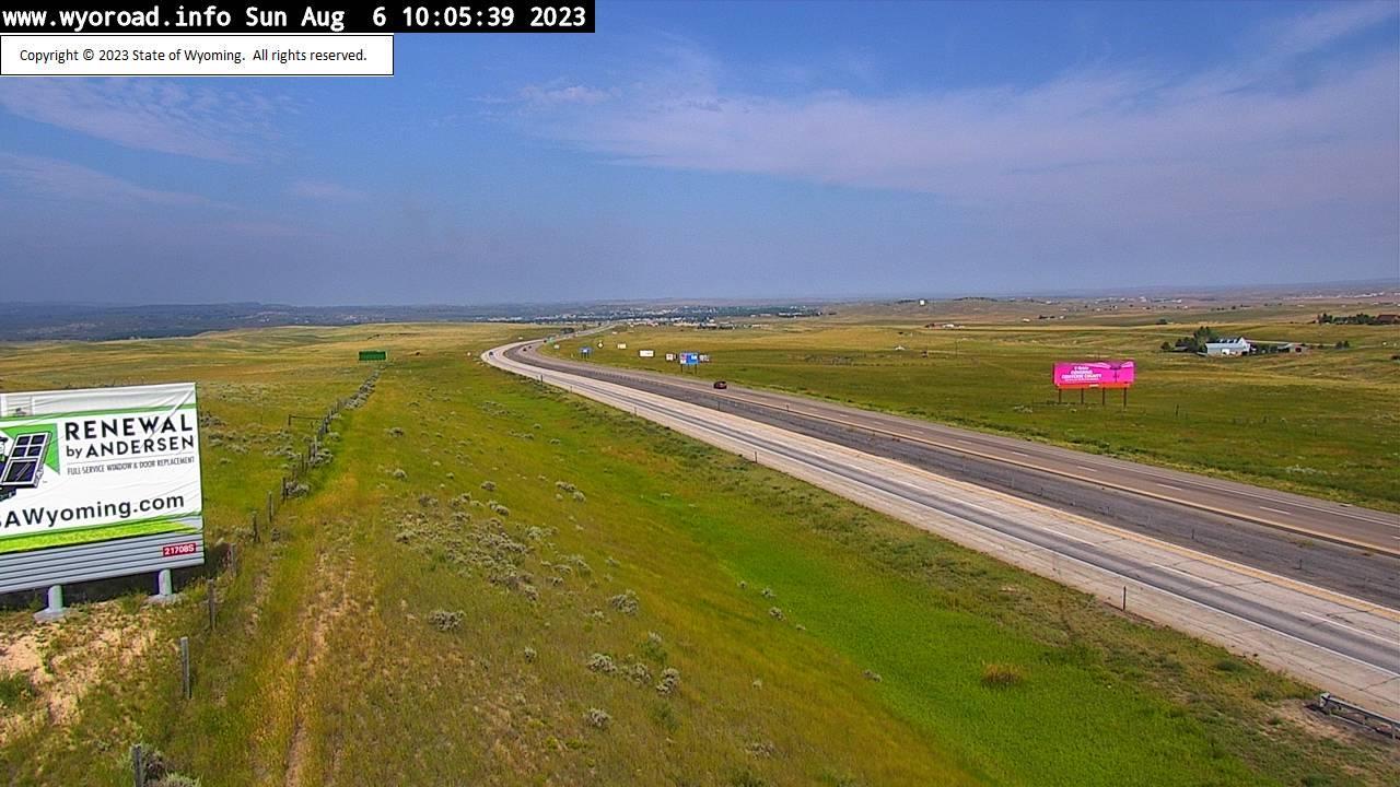 Webcam Irvine: I-25 near Douglas, WY (MM 133.7)