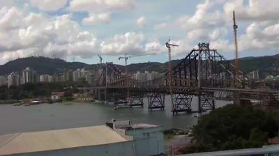 Webcam Florianópolis: Ponte Hercílio Luz − SC