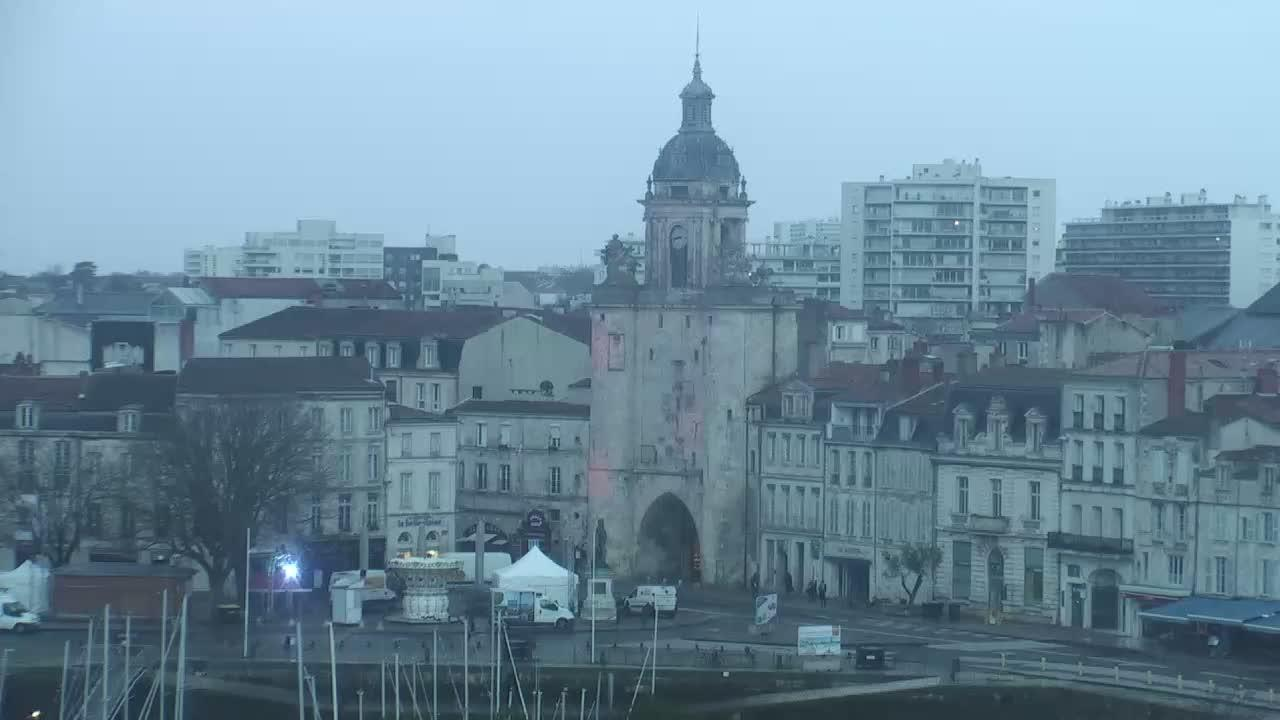 Webcam La Rochelle: Horloge