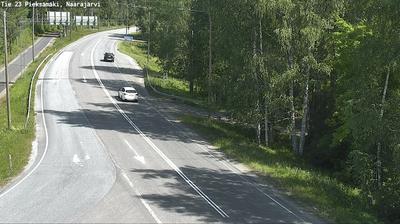 Vista de cámara web de luz diurna desde Pieksämäki: Tie 23 − Naarajärvi − Pieksämäelle