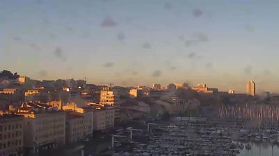Webcam Marseille: Vieux Port,panoramique hd-str