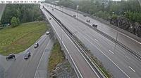 Svartbacken: Vega (Kameran är placerad på väg  Nynäsvägen i höjd med Vega och är riktad mot Stockholm) - Day time