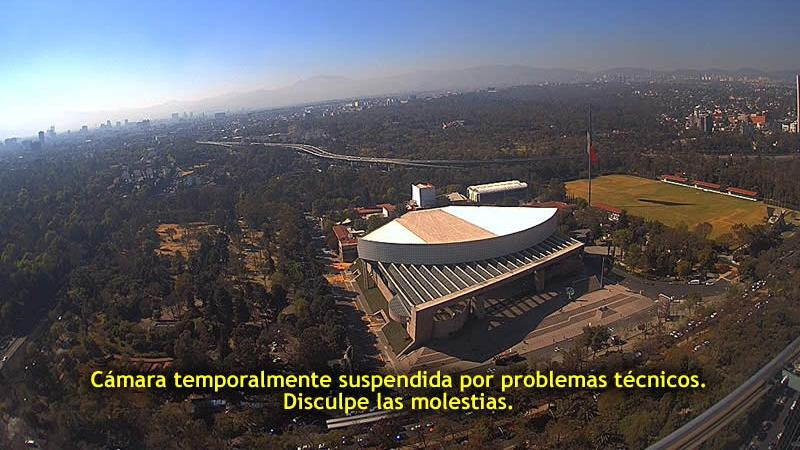 Webcam Chapultepec › South-East: Auditorio Nacional