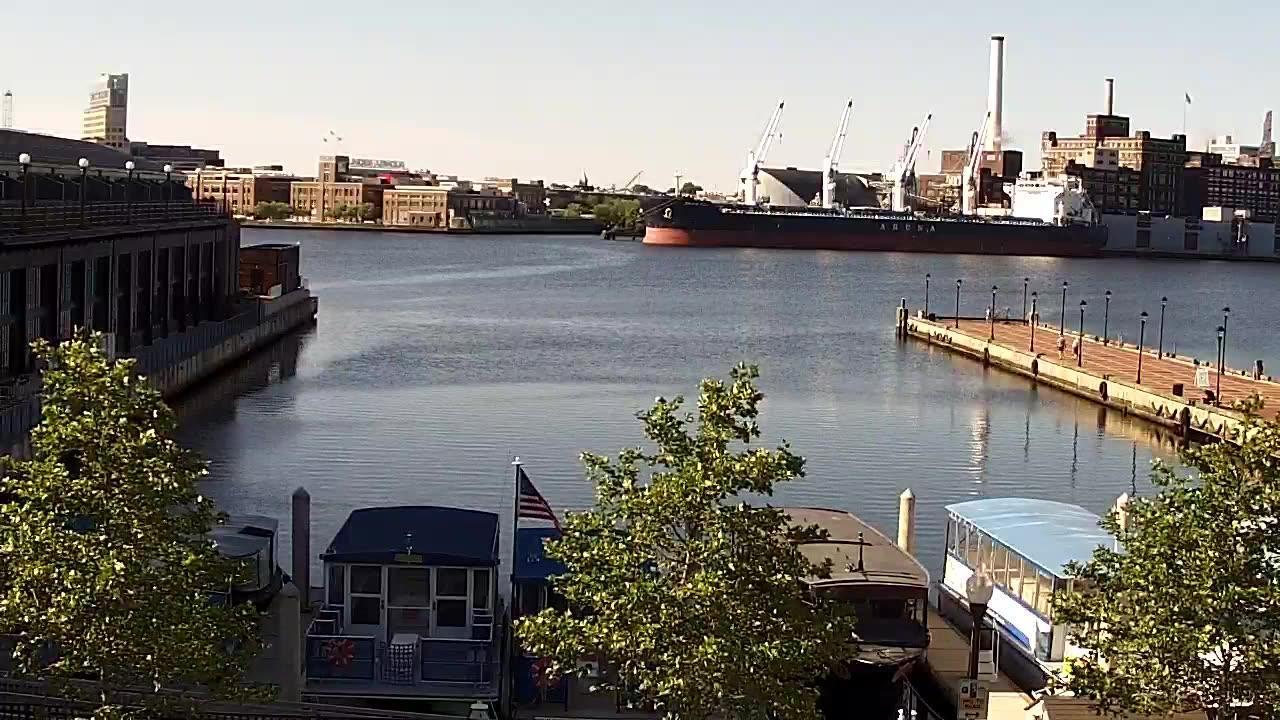Webkamera Baltimore: Fell's Point