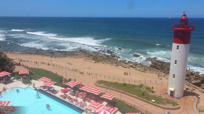 Vista de cámara web de luz diurna desde Durban North: The Oyster Box