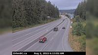 Mission > West: , Hwy  (Lougheed Hwy) at Hayward St in - looking north-west along Hwy - Recent
