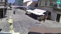 Greda: Sisak - pedestrian zone - Day time