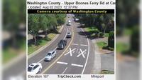 Durham: Washington County - Upper Boones Ferry Rd at Carman Dr - Dagtid