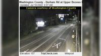 Durham: Washington County - Rd at Upper Boones Ferry Rd - Recent