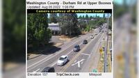Durham: Washington County - Rd at Upper Boones Ferry Rd - Overdag
