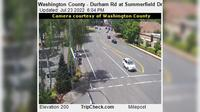 King City: Washington County - Durham Rd at Summerfield Dr - Actuelle