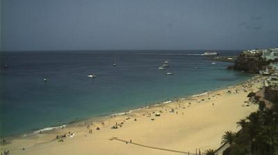 Daylight webcam view from Morro Jable: Coronado