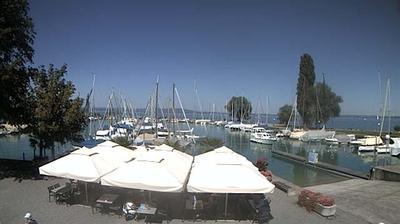 Webcam Romanshorn: Yacht-Club − Bodensee