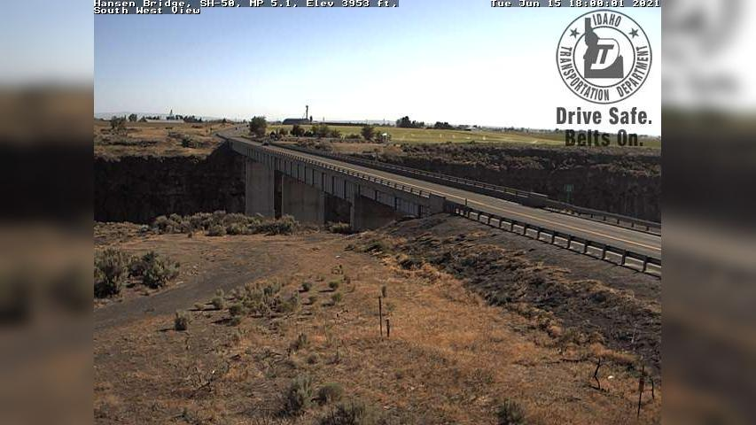 Webcam Tipperary Corner: Hansen Bridge south of i-84