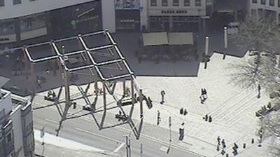 Daylight webcam view from Jena: Blick vom INTERSHOP Tower über
