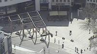 Jena: Blick vom INTERSHOP Tower über - Dia