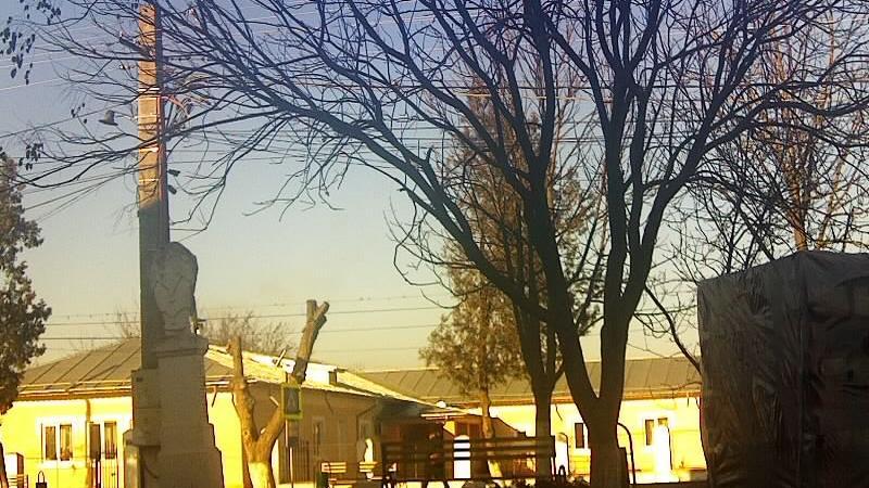 Webcam Mihail Kogălniceanu: Tulcea,com.: front of town ha