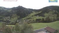 Ultima vista de la luz del día desde Maurach › South East: Saukarkopf − Karseggalm − Gabel(Kitzstein)