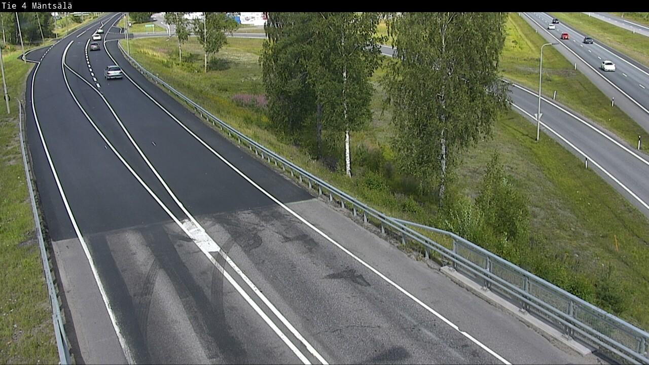 Webcam Mäntsälä: Tie 4 − Tie 140 Lahteen